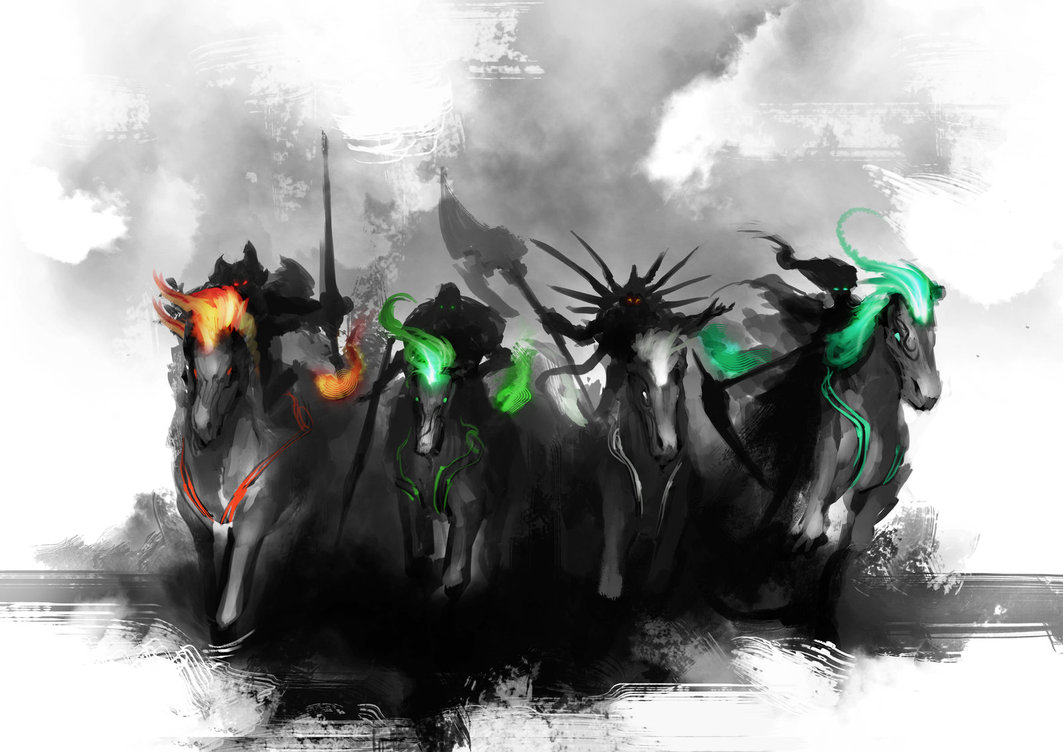 TEASER   4 Horsemen by theDURRRRIAN 1063x752