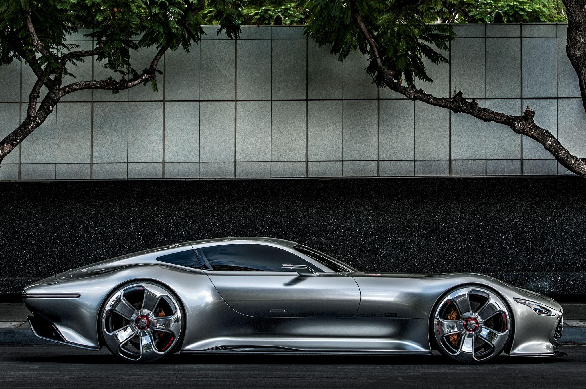 Mercedes Benz AMG Vision Gran Turismo Concept 2048x1360