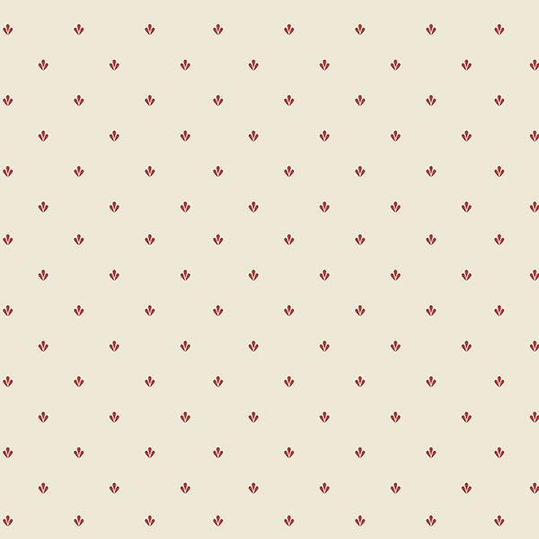 CO25930 Burgundy and Beige Small Print Wallpaper 600x600