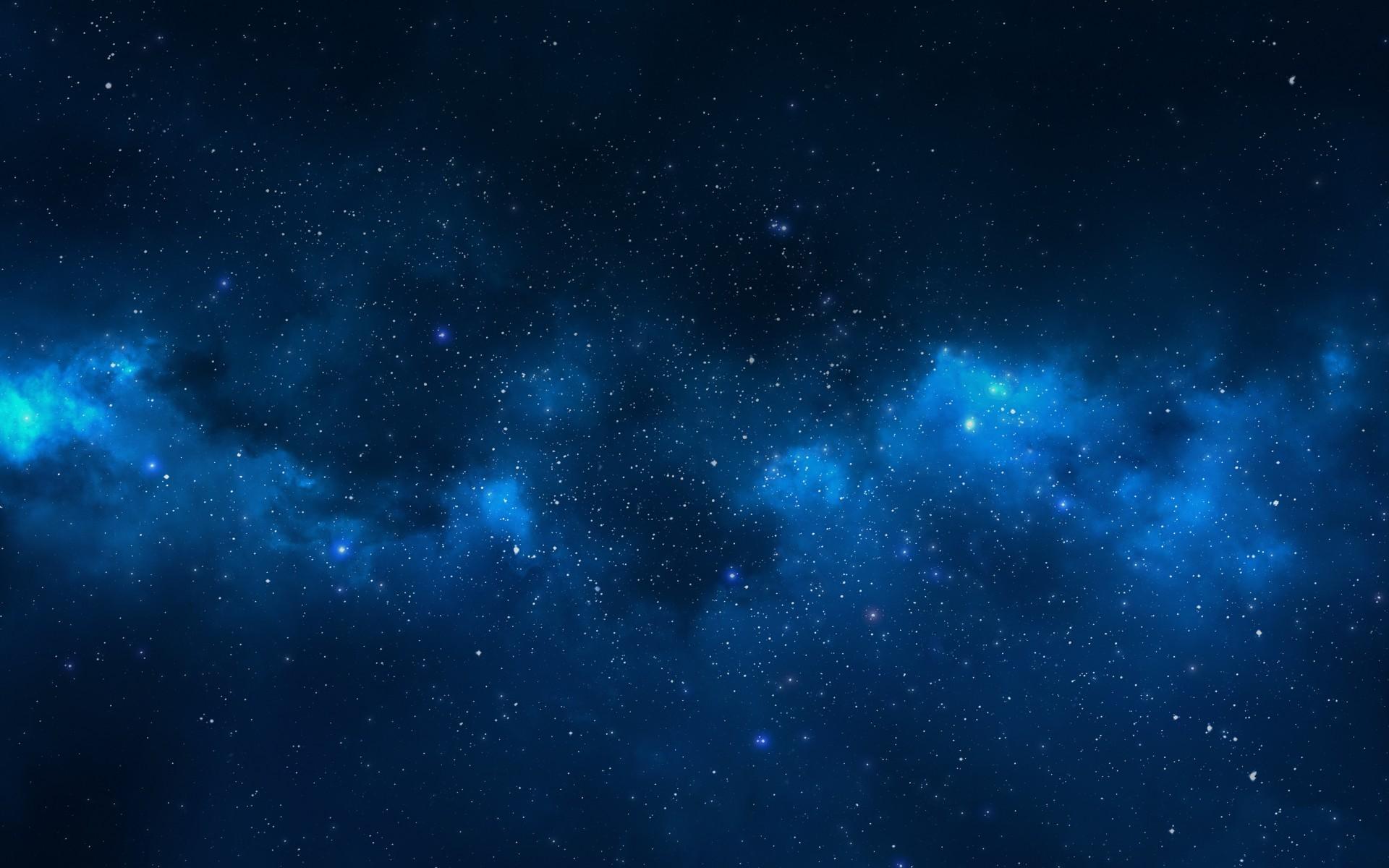 46 Blue Night Sky Wallpaper On Wallpapersafari