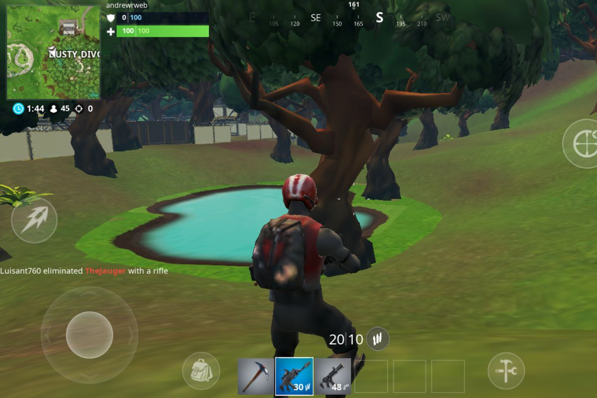 Fortnite looks terrible on my Android phone and I love it   The Verge 1200x800