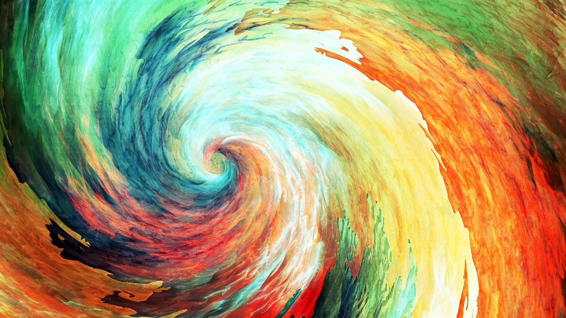 Abstract art spiral 1080p Animated Desktop Wallpapers 1920x1080