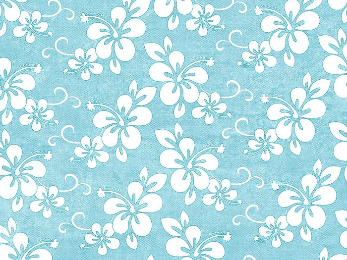 Summer Fun   Art Paper Patterns White Flowers in Blue Background 3 700x525