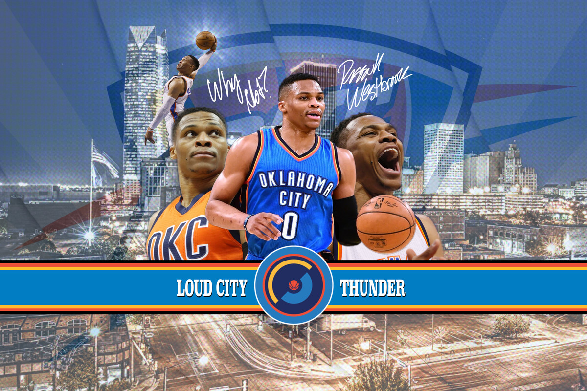 Oklahoma City Thunder Wallpaper of the Month Russell Westbrook 1200x800