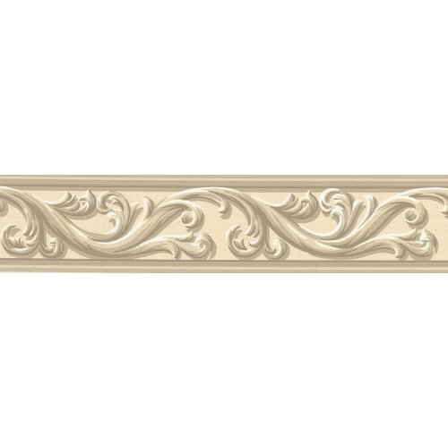 578840 Architectural Scroll Wall Border Cheap Apartment Decorating 500x500