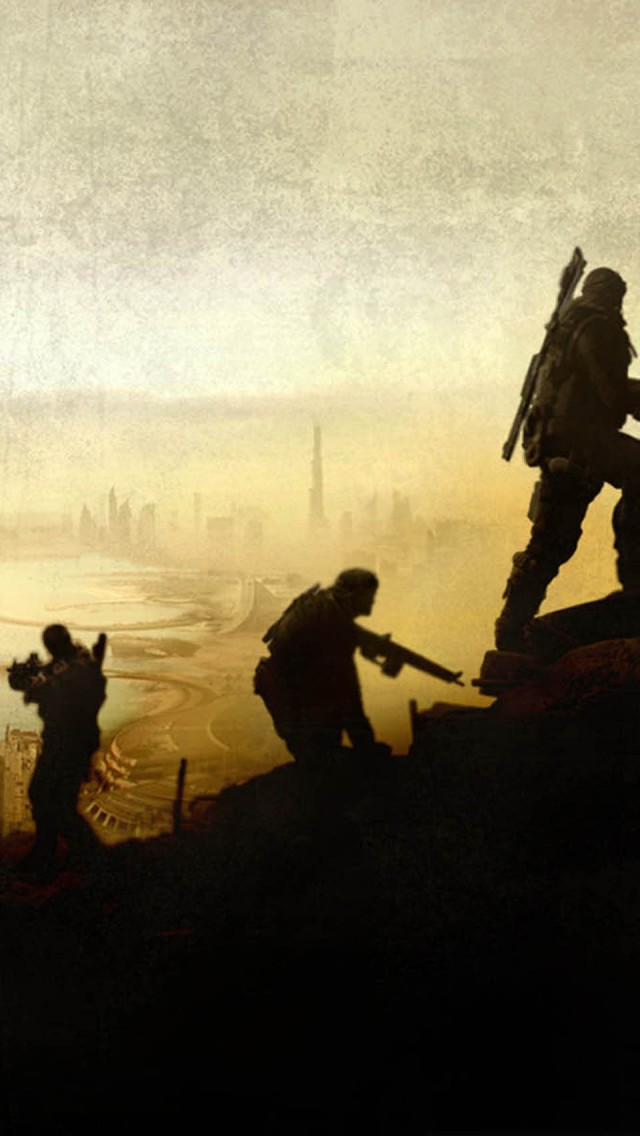 The iPhone Wallpapers Spec Ops The Line Game 640x1136