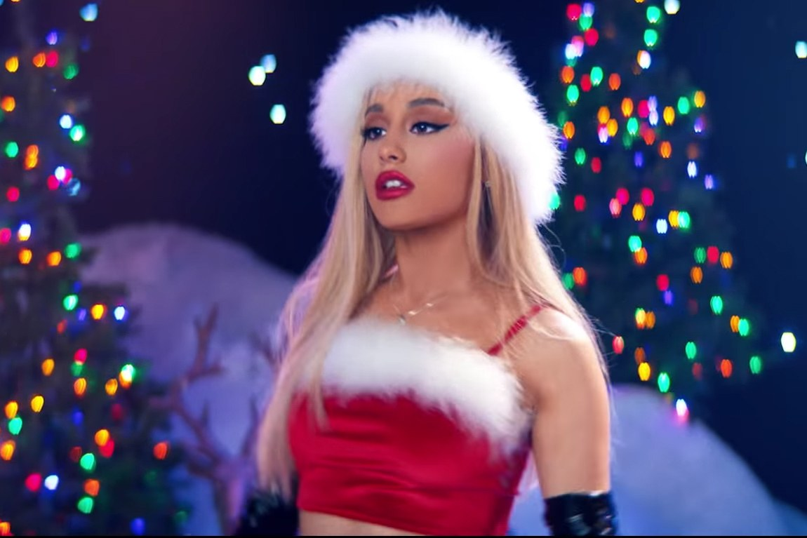 Ariana Grandes Christmas Songs Ranked Teen Vogue 1150x767