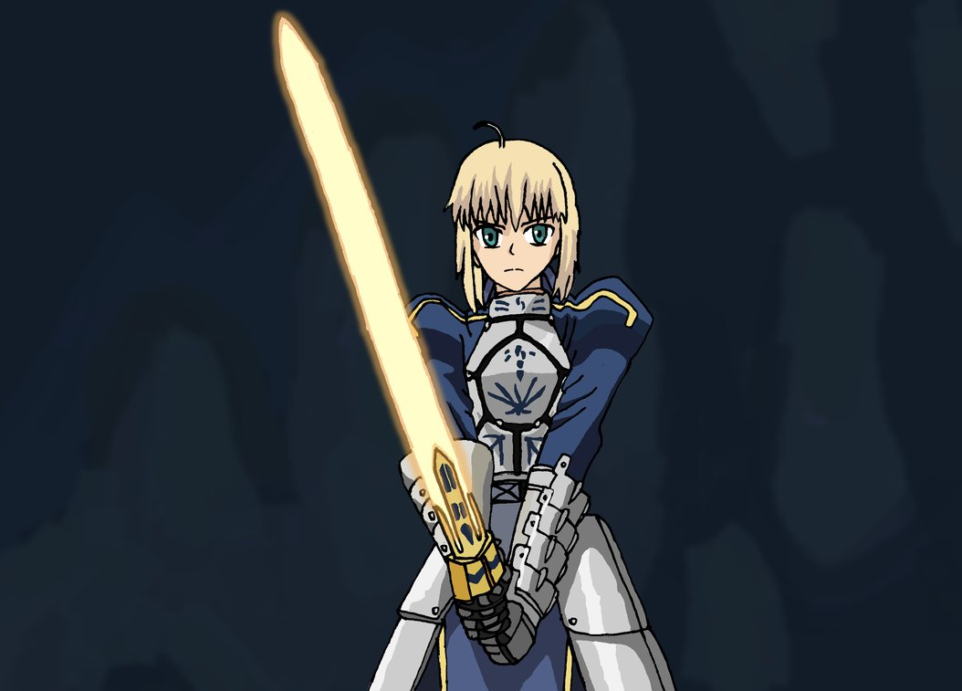 Fate Stay Night UBW Saber by faithless12 1054x757