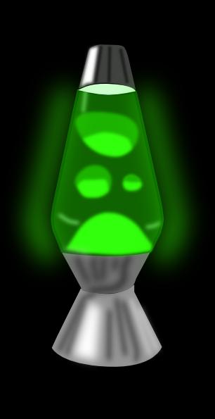 Lava Lamp Glowing Green Clip Art at Clkercom   vector clip art online 306x595