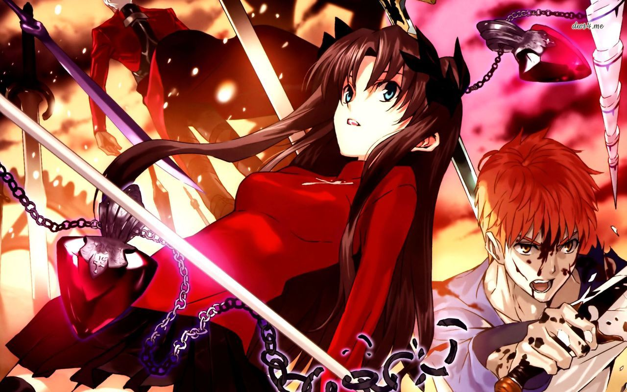 Fate Stay Night Rin Wallpaper