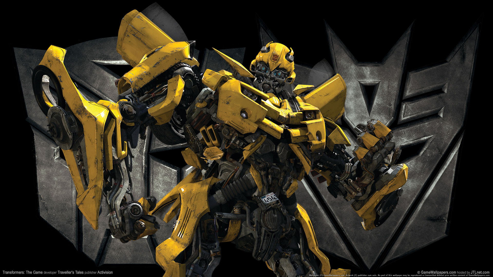 Transformers The Game Bumble Bee 4224883 1920x1080 All For Desktop 1920x1080