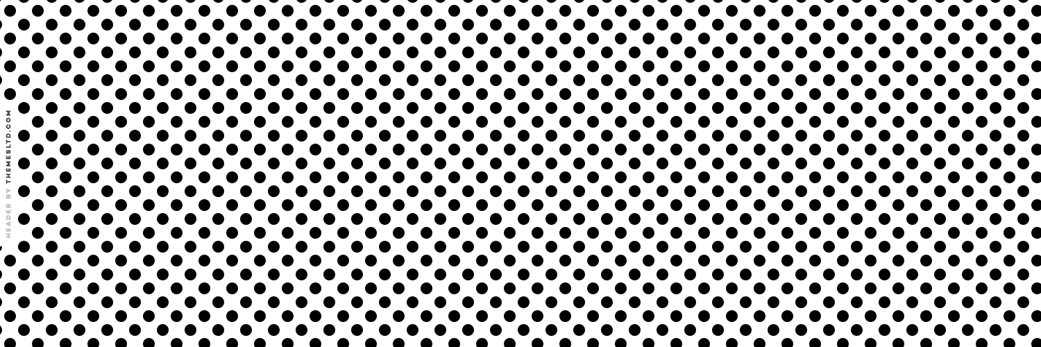 How to install this Black And White Medium Polka Dots Twitter Header
