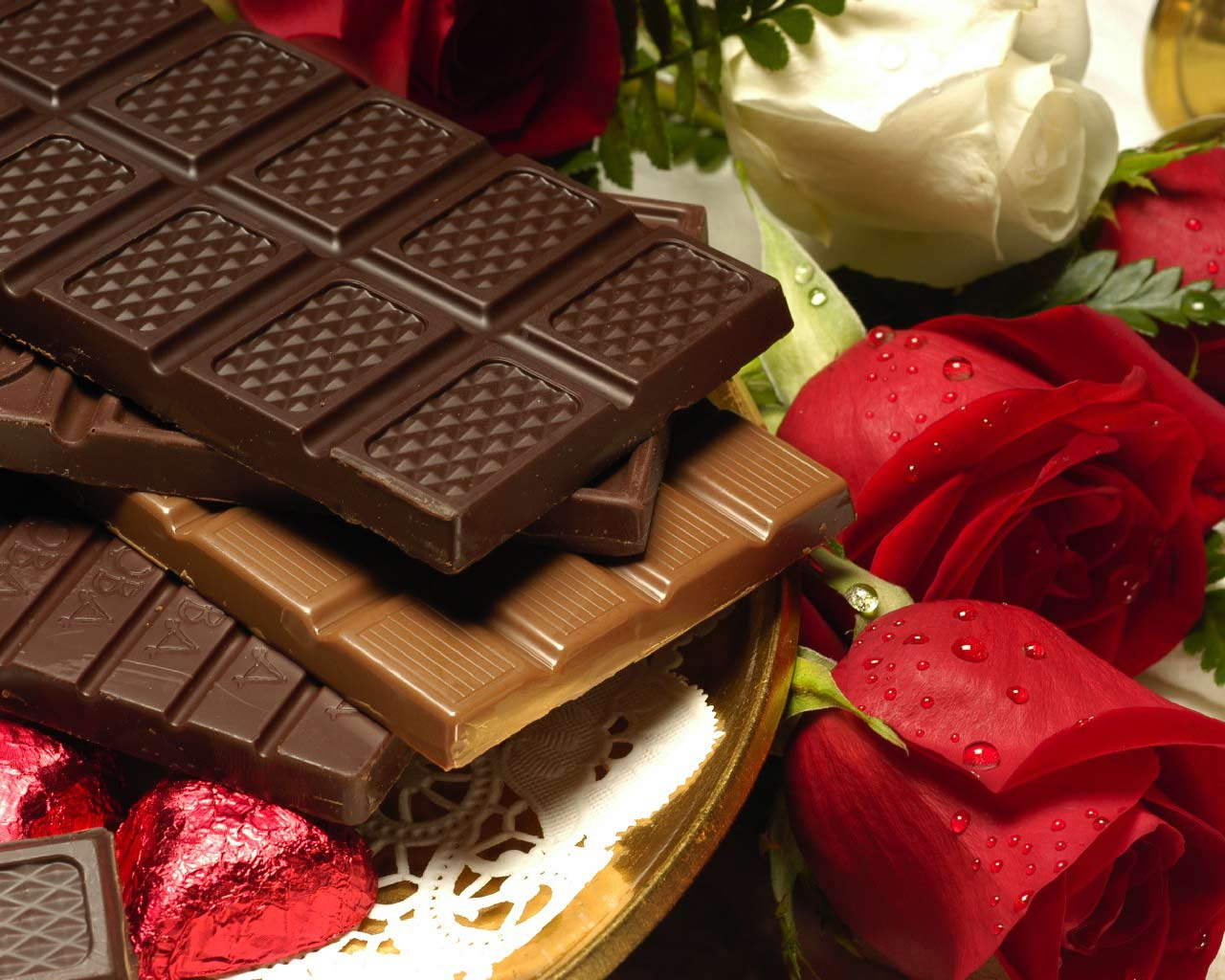 Valentine Chocolate Wallpaper IPhone Wallpaper WallpaperLepi 1280x1024