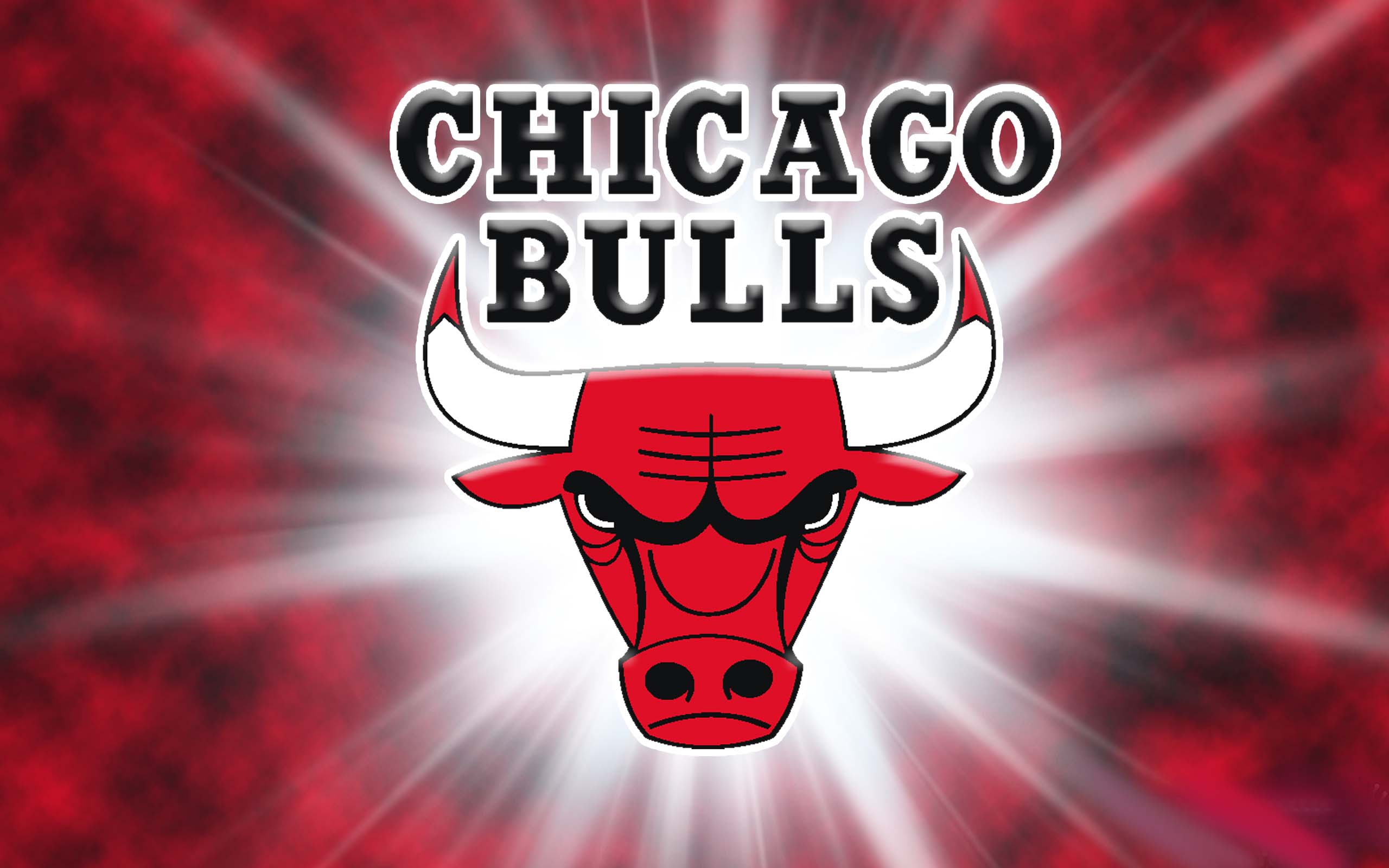 Chicago Bulls HD Wallpapers Poster Chicago Bulls Logo Black 2560x1600