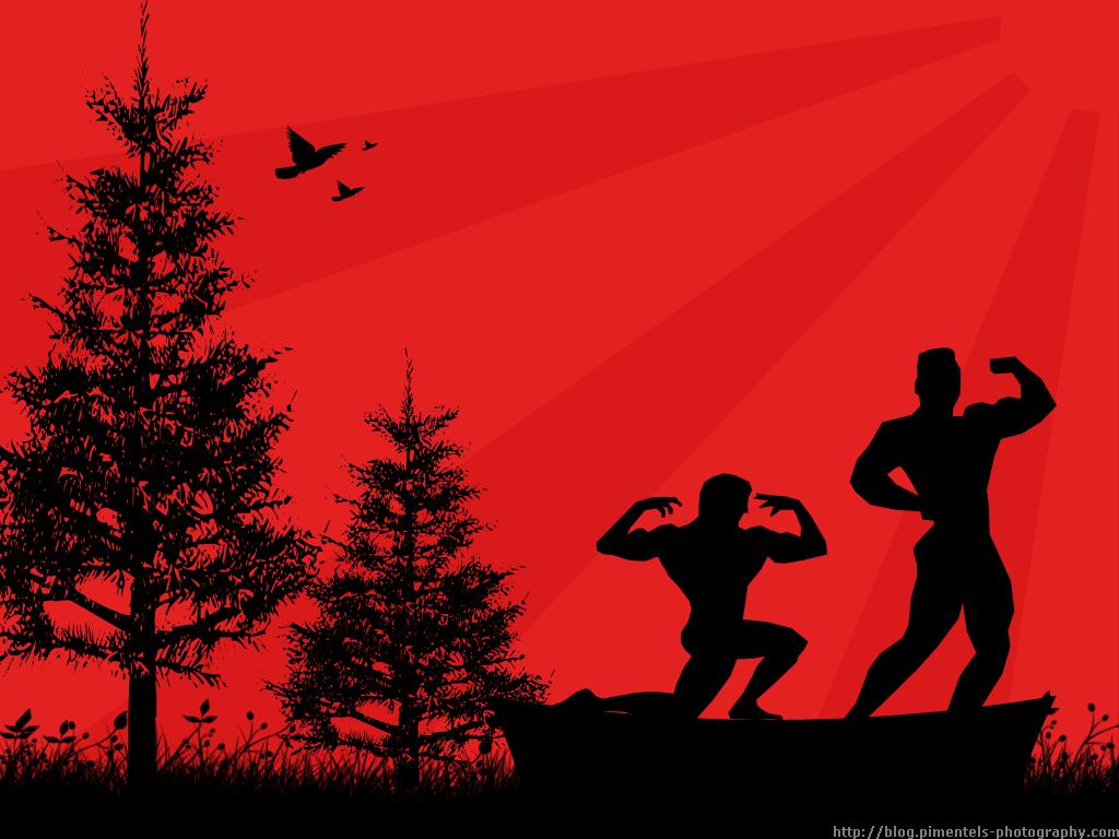 Beast Motivation Bodybuilding Art 1024x768