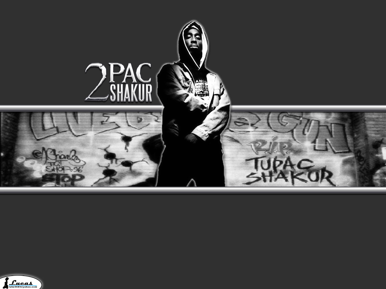 2Pac Thug Life Wallpaper 1600x1200