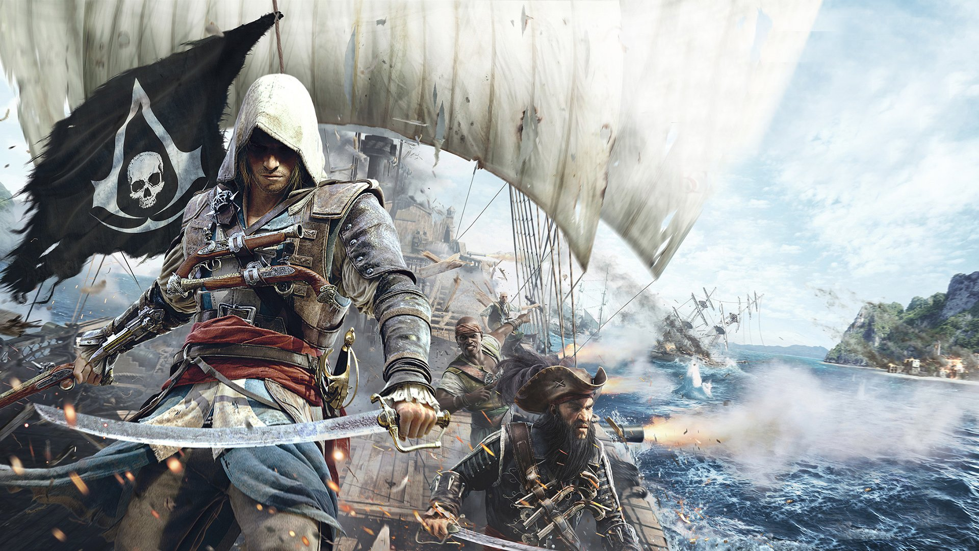 126 Assassins Creed IV Black Flag HD Wallpapers Background 1920x1080