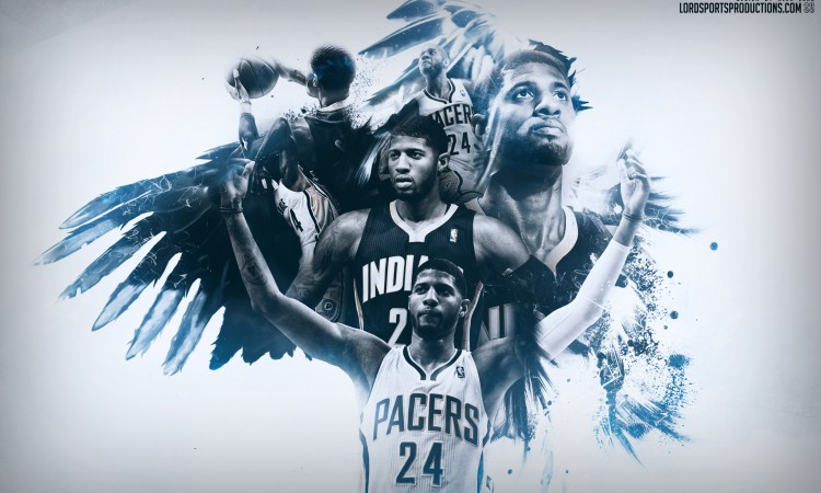 Paul George Indiana Pacers 2015 2016 Wallpaper 750x450