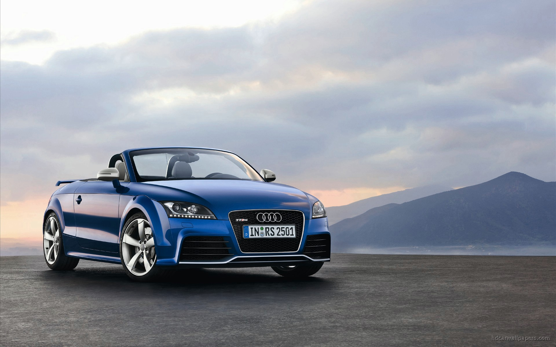2010 Audi TT RS Roadster 4 Wallpaper | HD Car Wallpapers