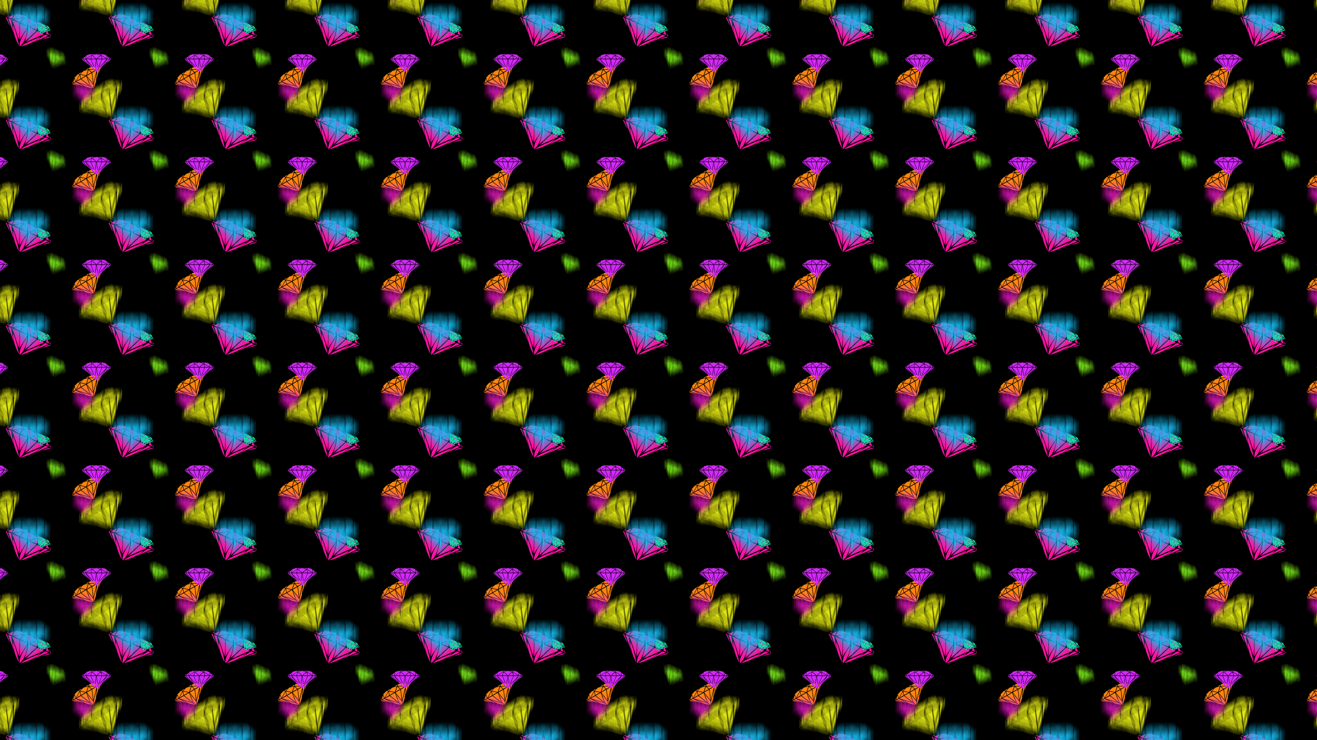 this Depth Diamonds Desktop Wallpaper is easy Just save the wallpaper 2560x1440