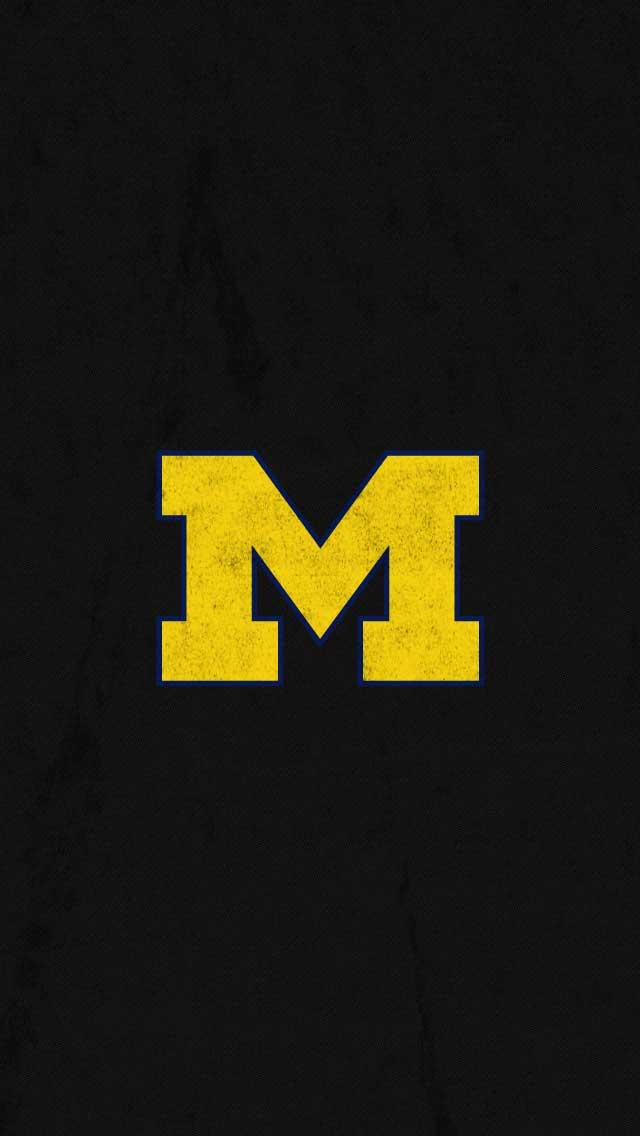 Michigan football iphone wallpaper wallpapersafari - M letter wallpapers mobile ...