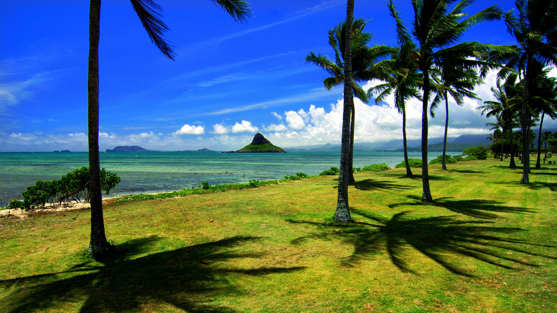 backgrounds wallpaper backrounds chinaman desktop beach hawaii 1920x1080