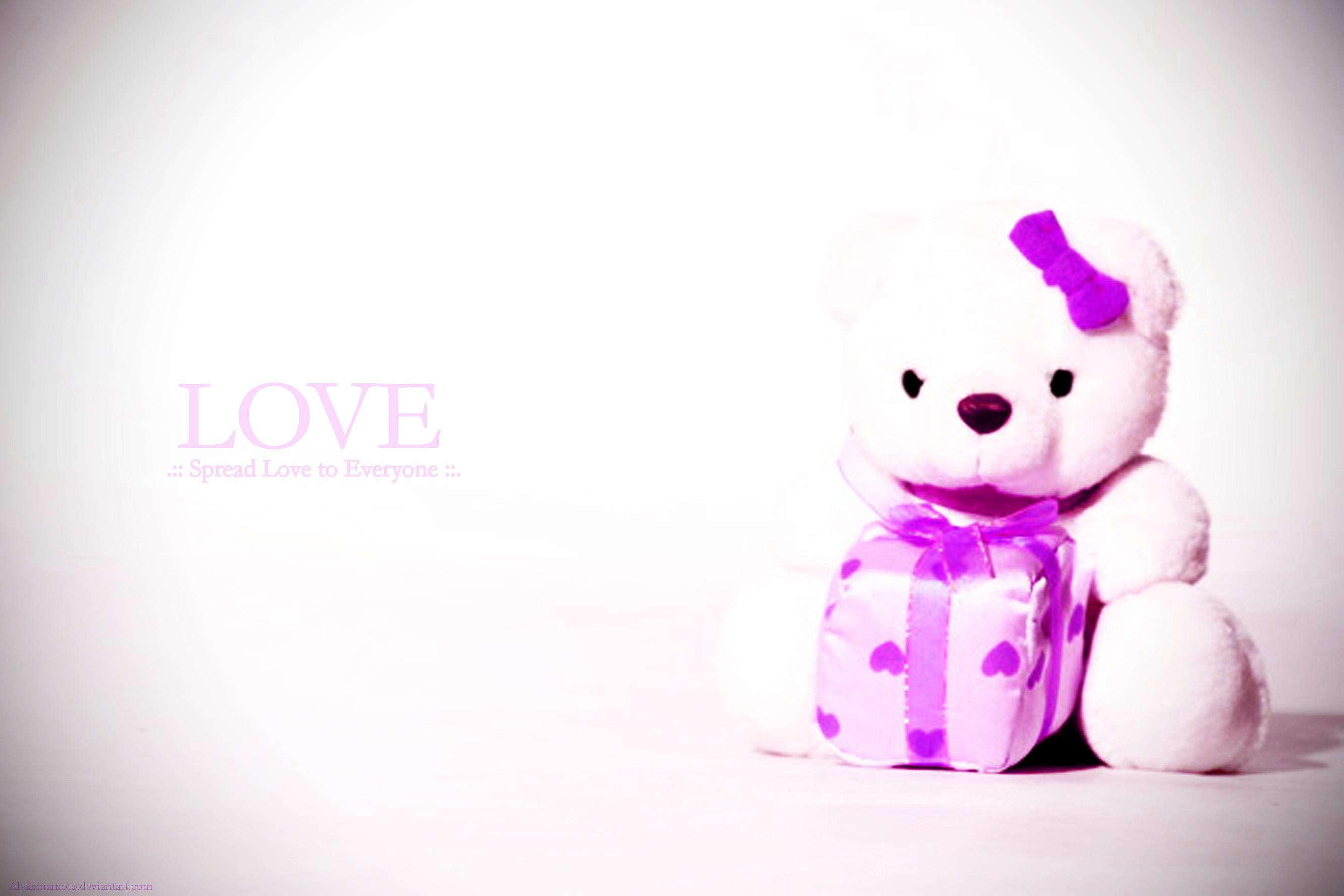 Pics Photos   Cute Teddy Bear Images Hd Wallpaper We 2662x1775