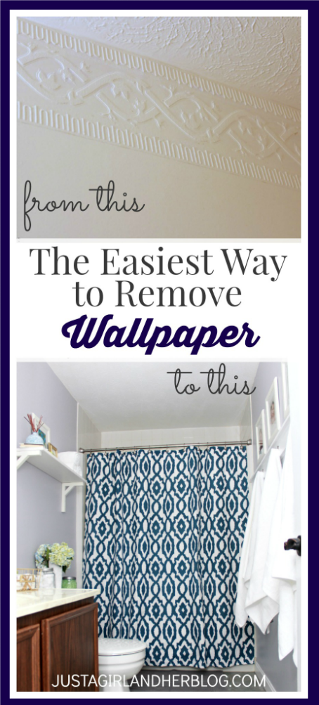The Easiest Way to Remove Wallpaper   Just a Girl and Her Blog 454x1003