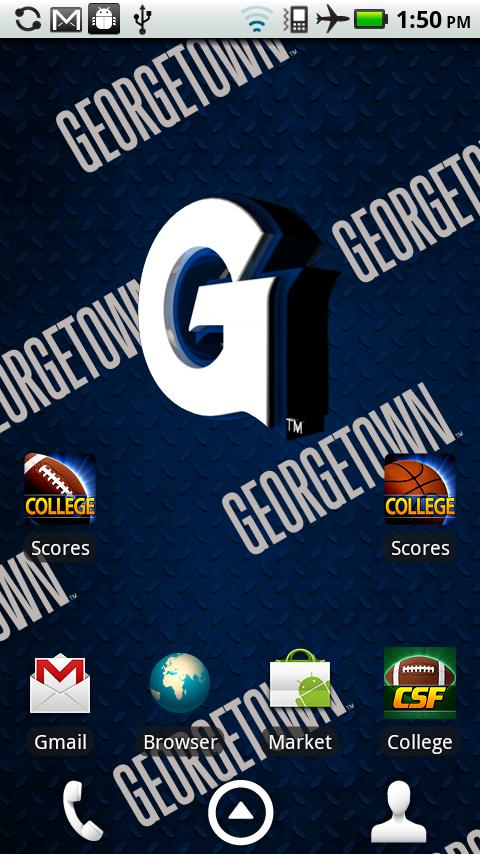 logo Background animation that fades from Georgetown logo to Hoyas 480x854