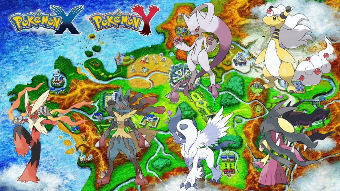 44 pokemon x y wallpaper hd on wallpapersafari - X evolution pokemon ...