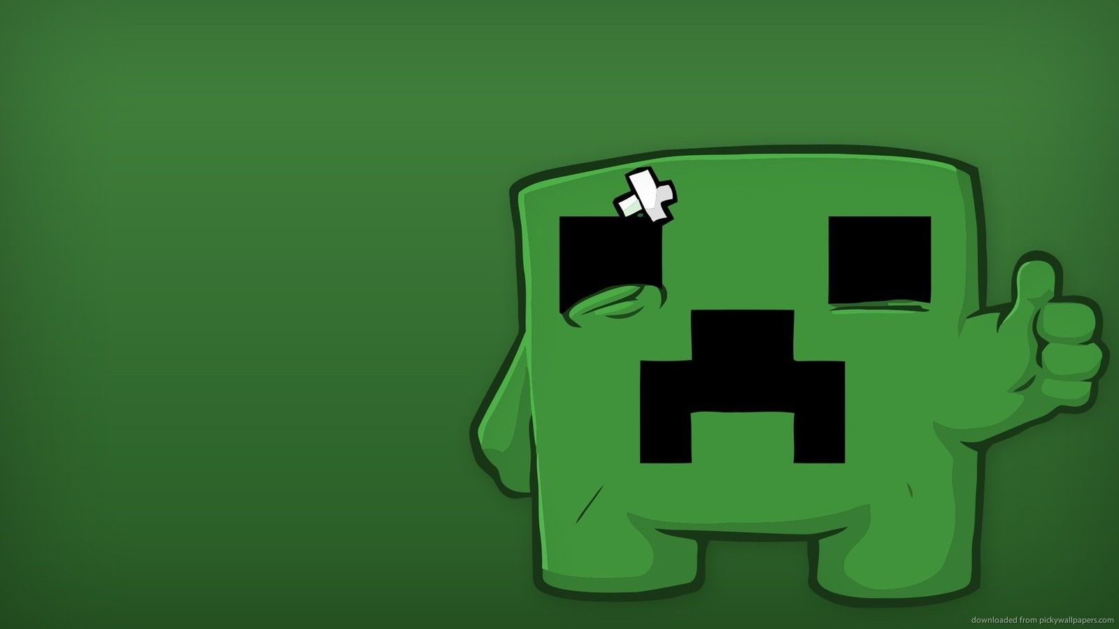 Minecraft Creeper Images Click Wallpapers Gamers in 2019 1600x900