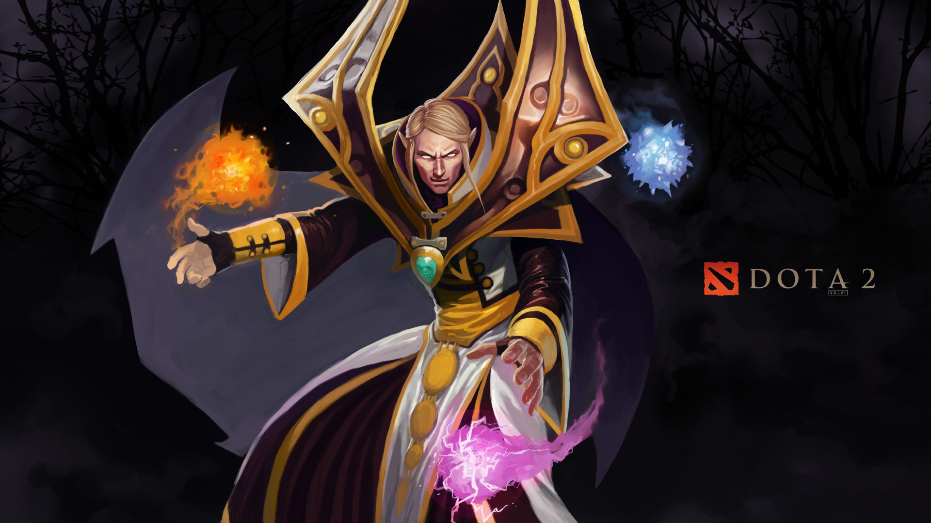 Dota 2 Invoker 1080p 0m Wallpaper HD 1920x1080