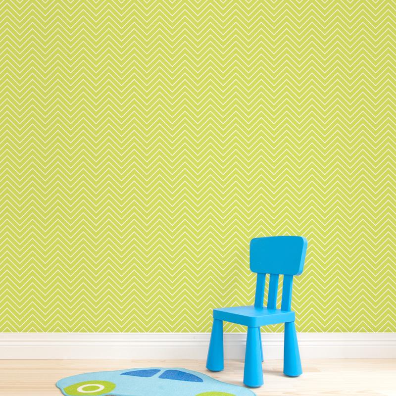 Zig zag wallpaper lime 2jpg 800x800