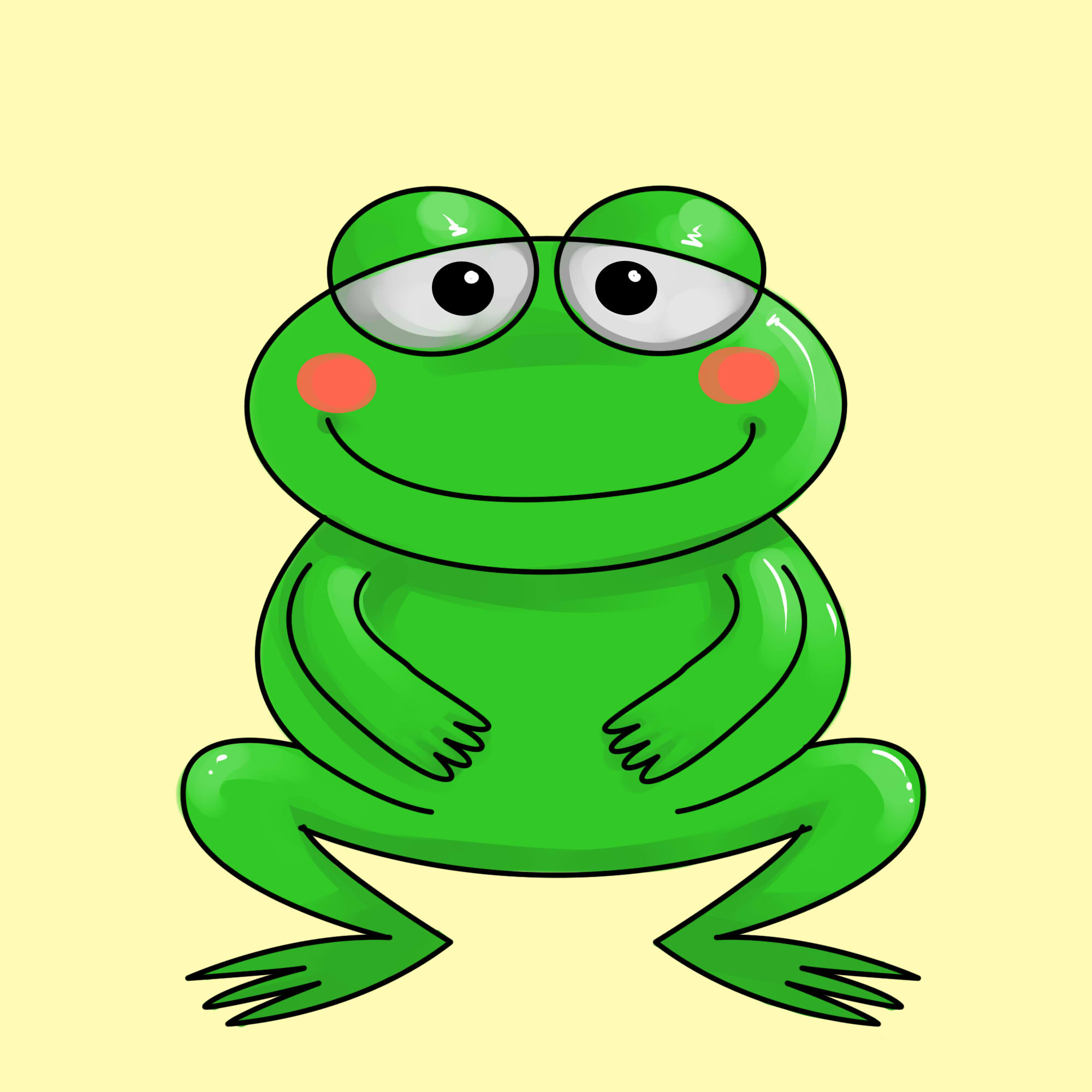 Hop your way in to learn how to draw a frog! how to draw a frog, cartoon frogs