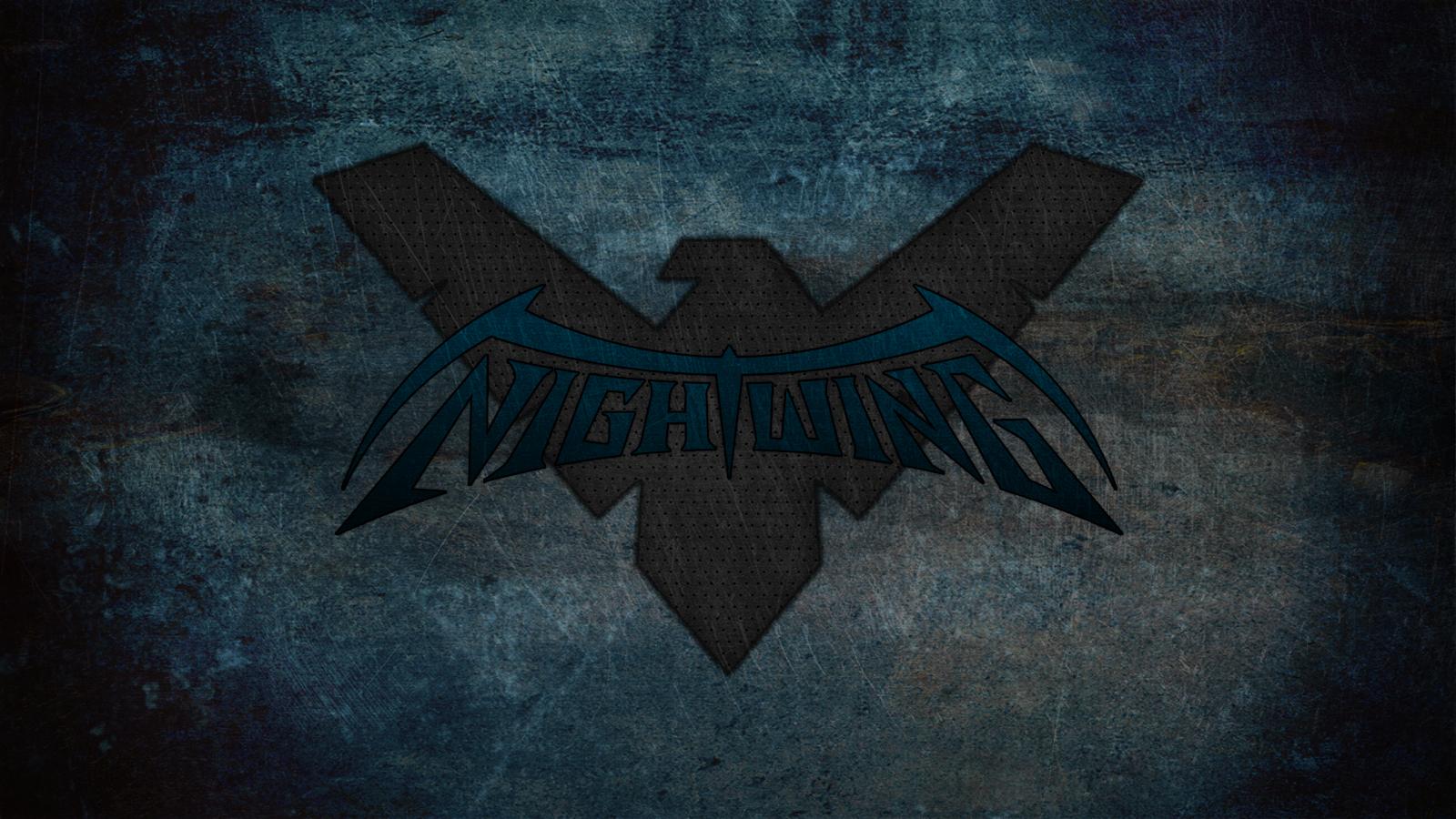 Nightwing Symbol Wallpaper Nightwing 1600x900