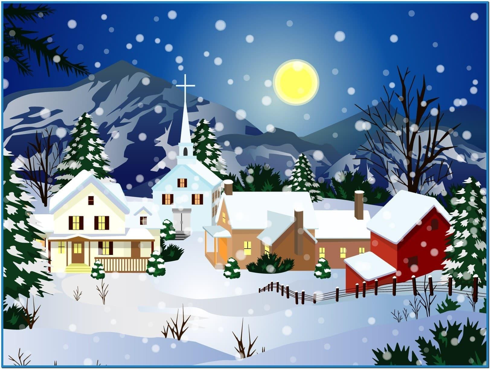 Animated christmas desktop screensavers   Download 1623x1223