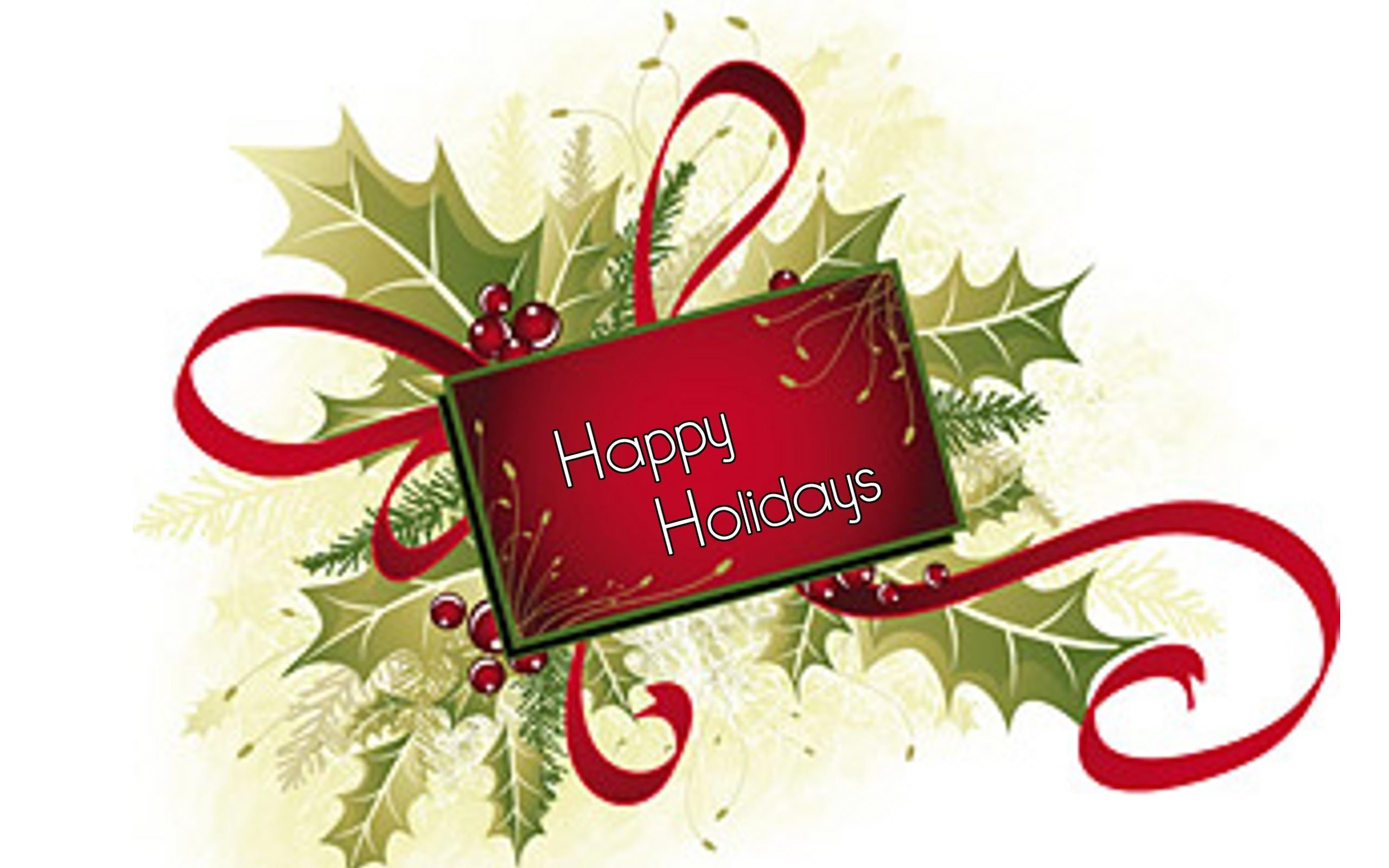 Happy Holiday Wallpaper Full Screen High Definition Desktop 2560x1600