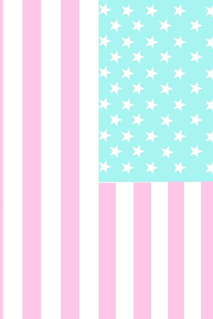 Girly wallpapers Usa flag wallpaper   image 942796 by mollyroop on 427x640