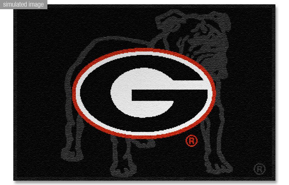 georgia bulldogs logo entry rug 24x36jpg Photo by bad2244 1000x643