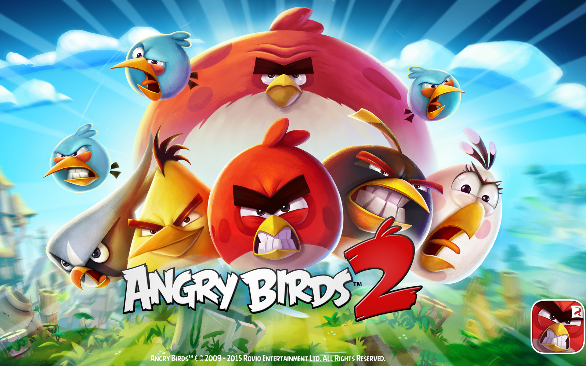 Free download Angry Birds 2 Wallpapers HD Wallpapers