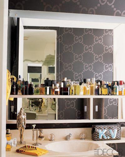 Bathroom Wallpaper Ideas   Wallpaper for Bathrooms   ELLE DECOR 400x500