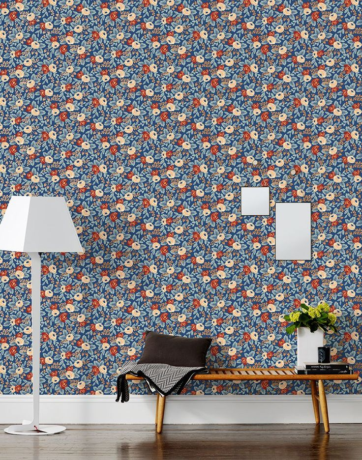 Rifle Paper Co Launches Fabulous Wallpaper Collection 736x936