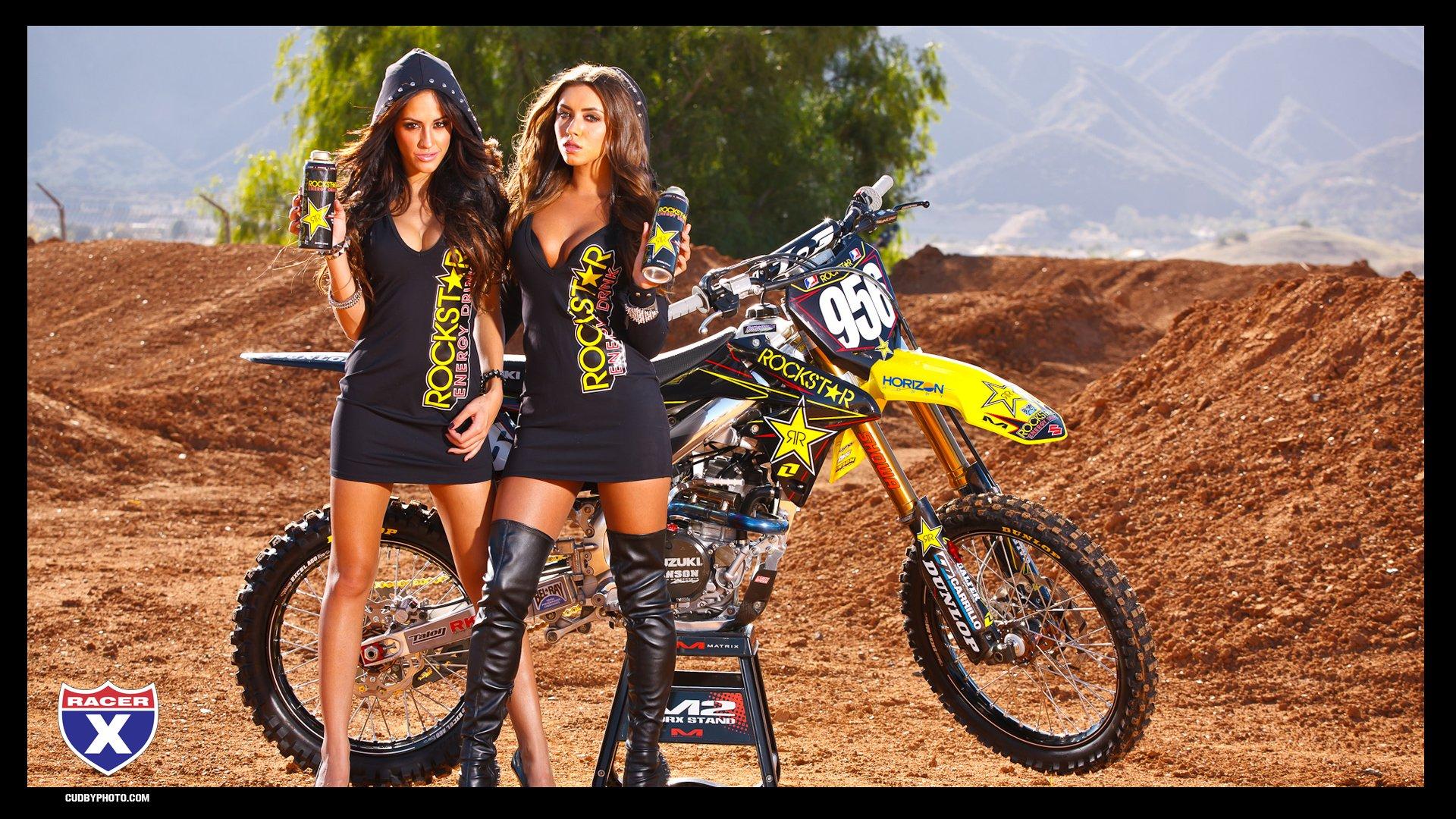 Motocross Girls Wallpaper Rockstar girls 1920x1080