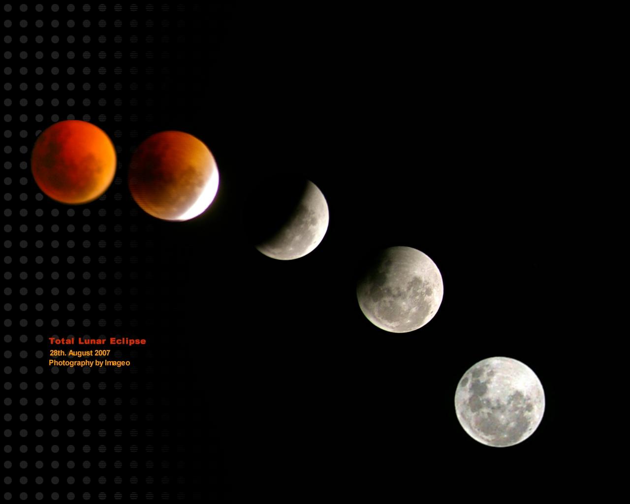 wallpaper 7: Lunar Eclipse Wallpapers