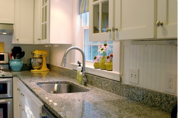 DIY Why Spend More Paintable wallpaper for a backsplash 702x466