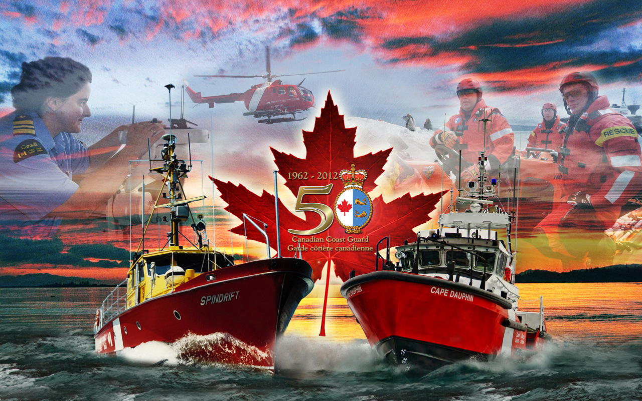 Canadian Coast Guard 50th Anniversary Lighthouse Memories 1280x801