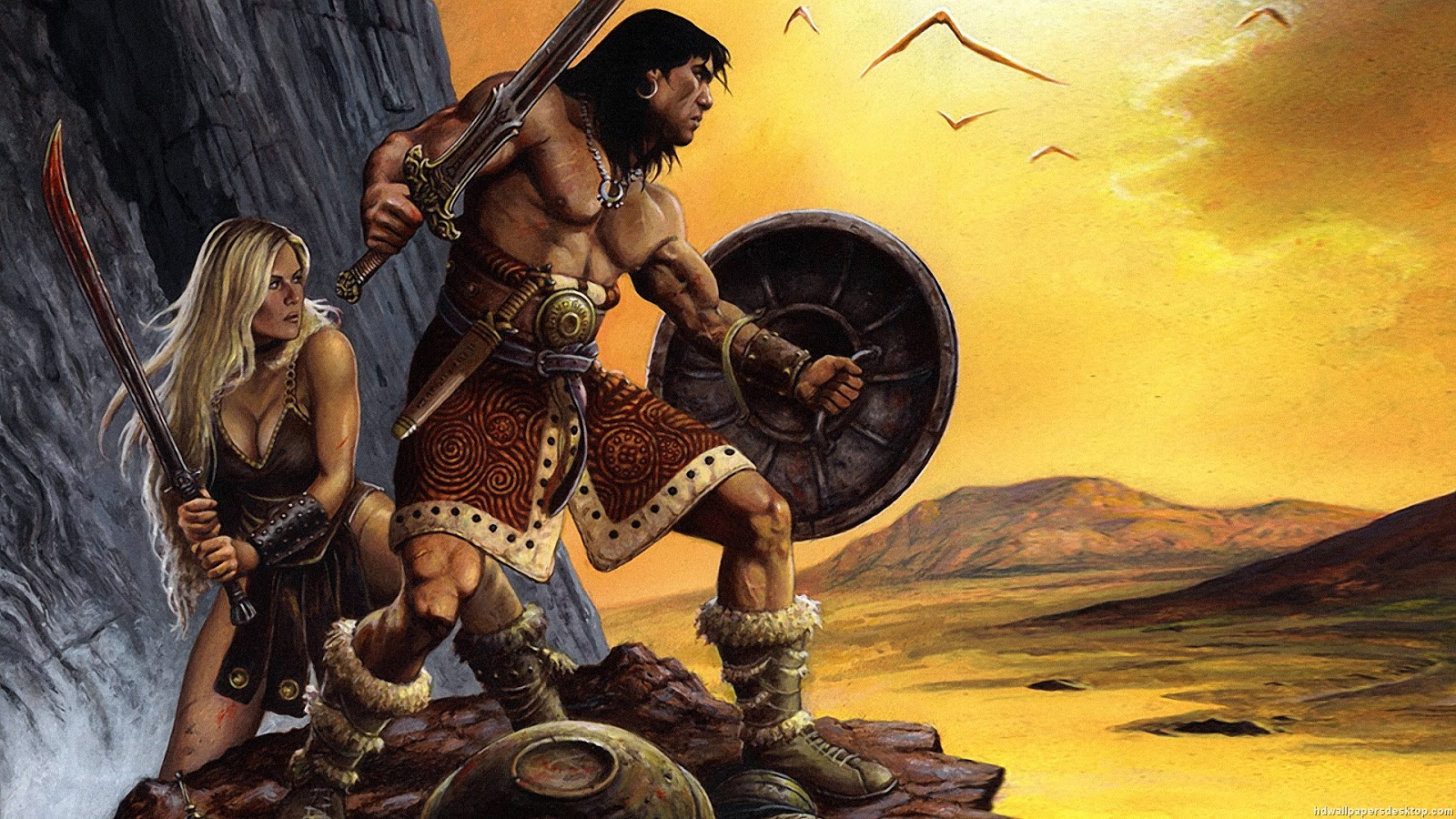 Record of a baffled spirit Conan the Barbarian the Romans and the 1600x900