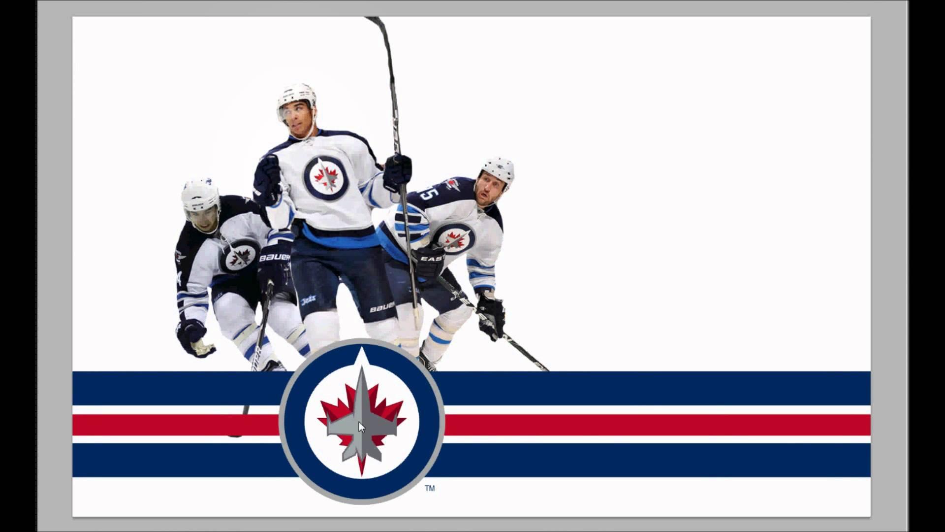 Speedpaint Winnipeg Jets wallpaper 1920x1080