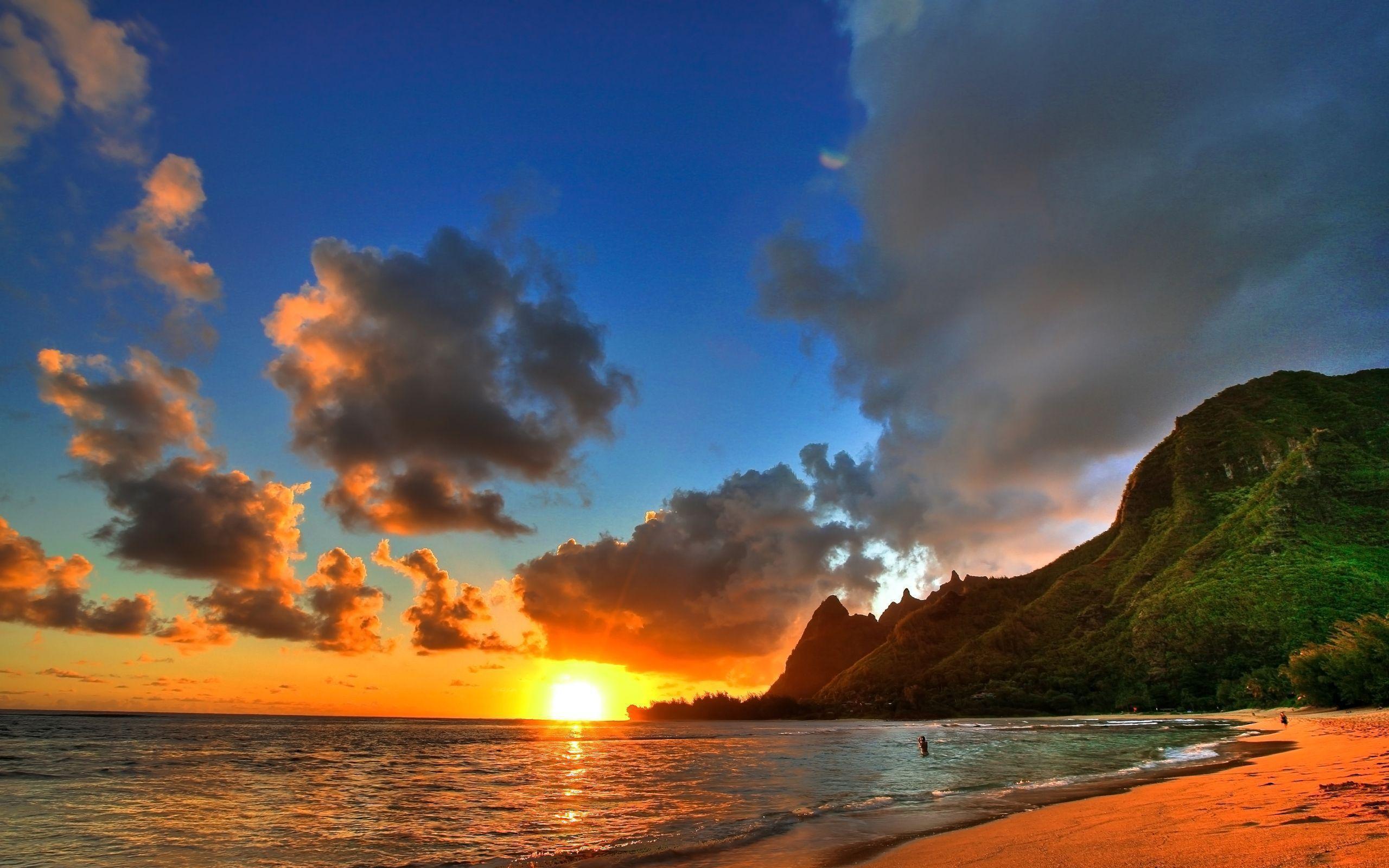 Hawaii Sunset Wallpapers 2560x1600