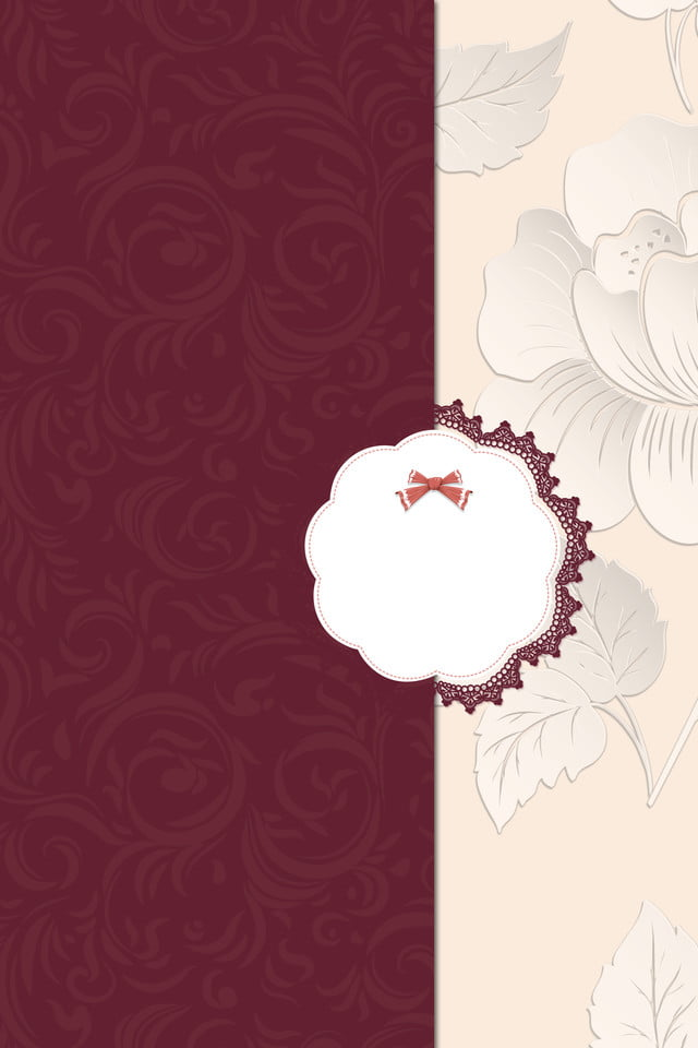 Wedding Invitation Background Red Synthesis Festive High End 640x960